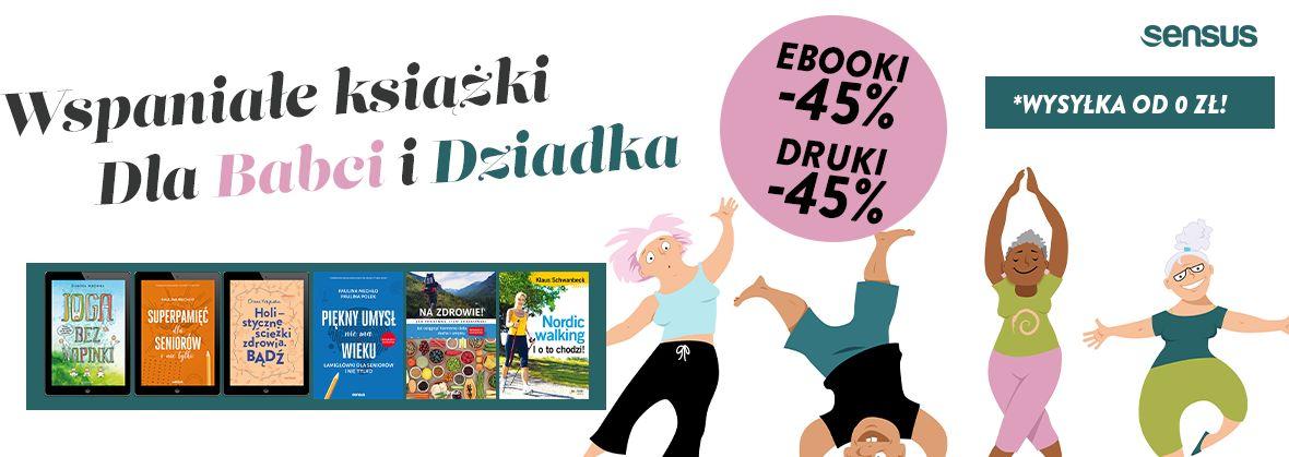 Promocja na ebooki Wspaniałe książki Dla Dziadków [-45%]